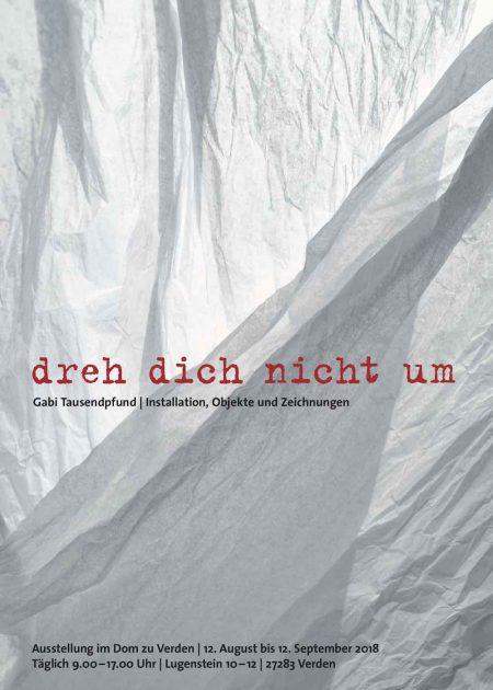 """Ausstellung """"DREH DICH NICHT UM"""""""